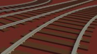 3D train tracks