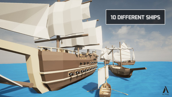 ships pack 3D model