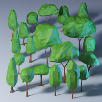 Polygonal Trees Pack