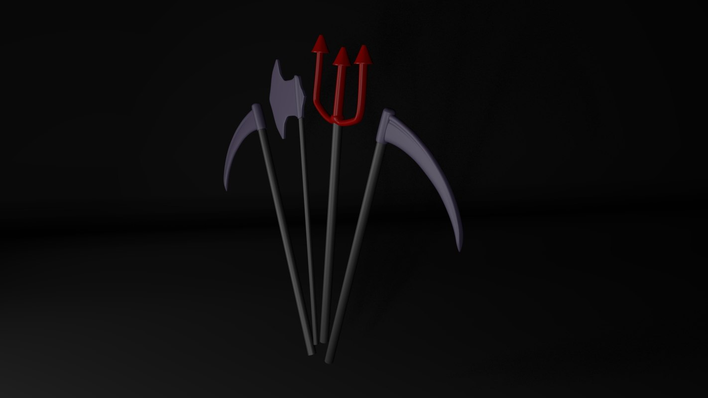 3D model halloween items