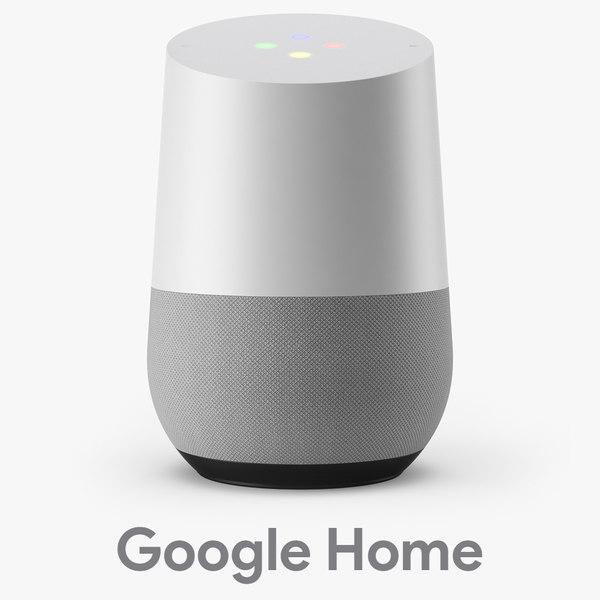 google home 3D model