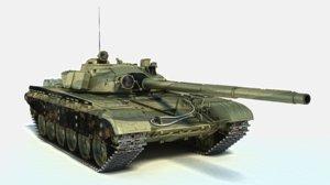 t-72 ural tank main 3D