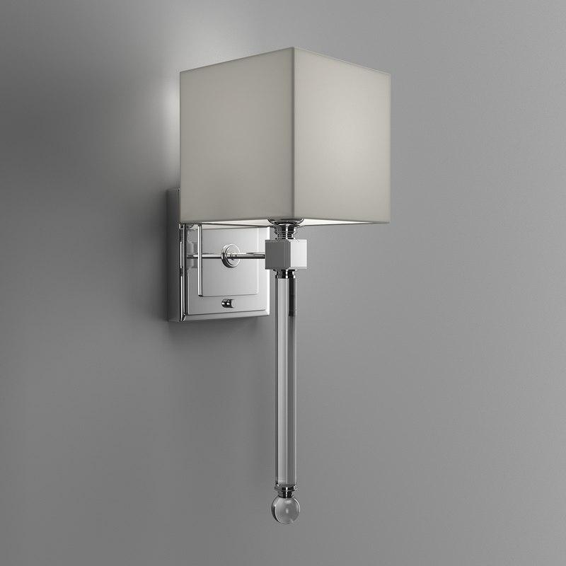 3D sconce lights