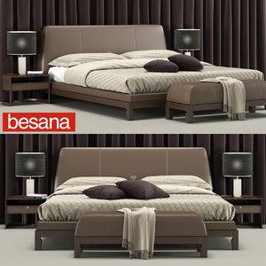 besana lavinia bed 3D