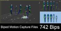 motion capture files 742 3D