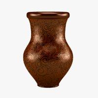 3D vase ceramics interior