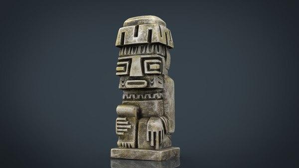 tiwanaku idol model