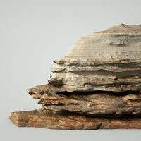 mountain rocks 3D