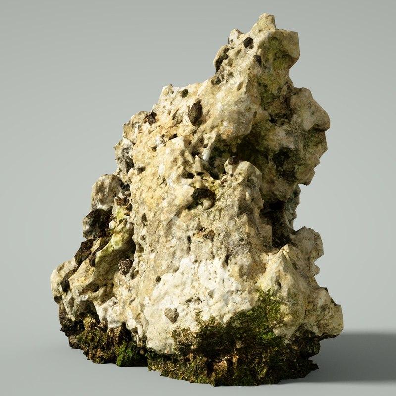mountain rocks 3D model