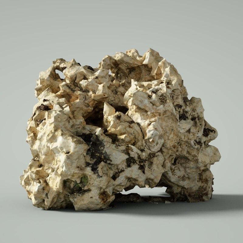 mountain rocks model