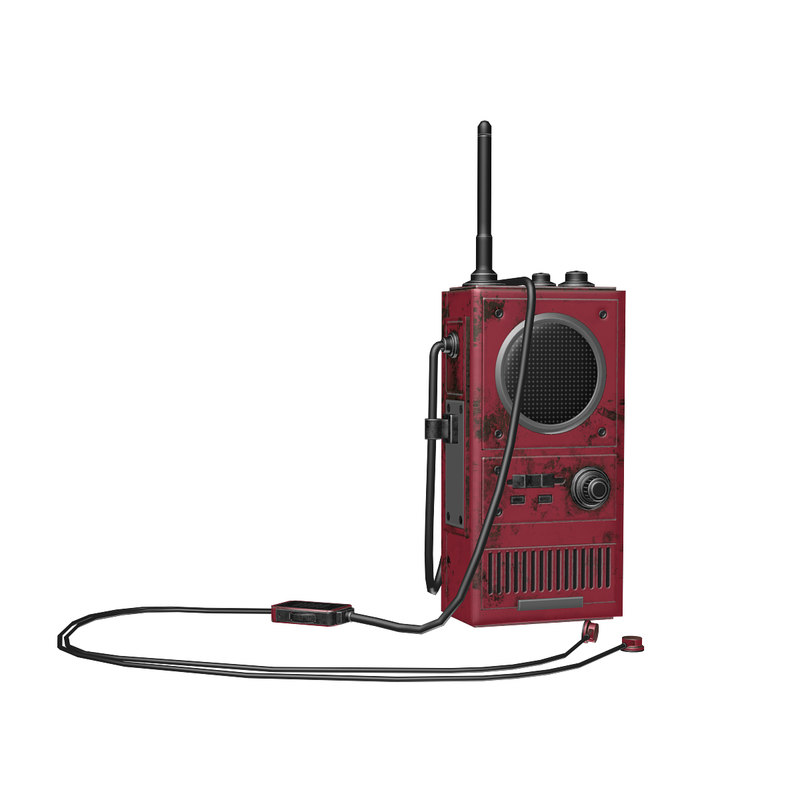 3D walkie talkie army