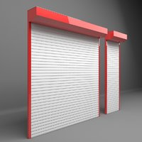 electrically shutter garages door model