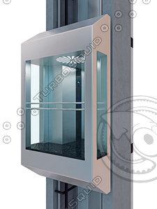 panoramic cabin lift model