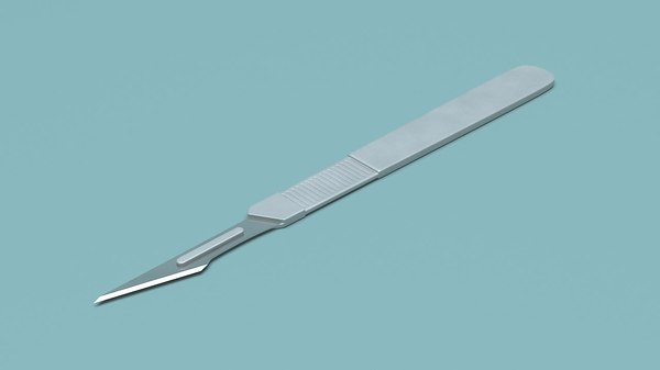 surgical knife 3D
