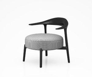 3D ripple chair giorgetti