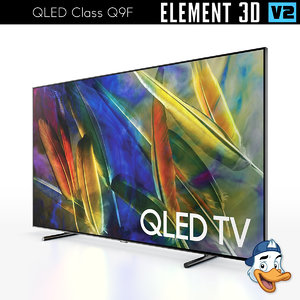 qled class q9f element 3D model