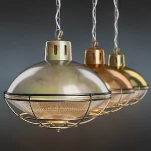 marlow cage lamp 3D model