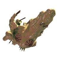 alien orgaship-1 3D