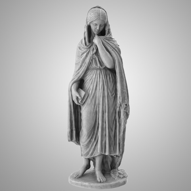 3D statue highland mary
