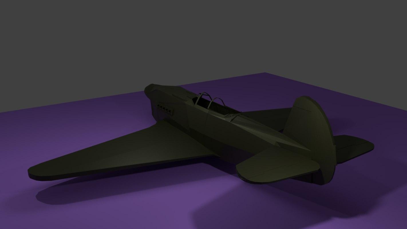 simple yak-9p 3D