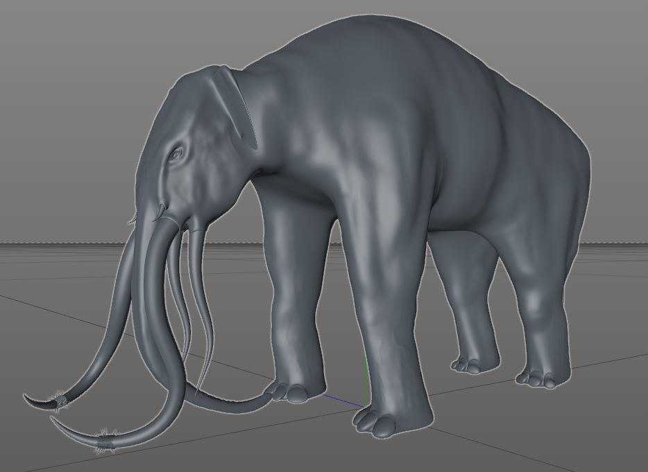 3D mumakil oliphaunts