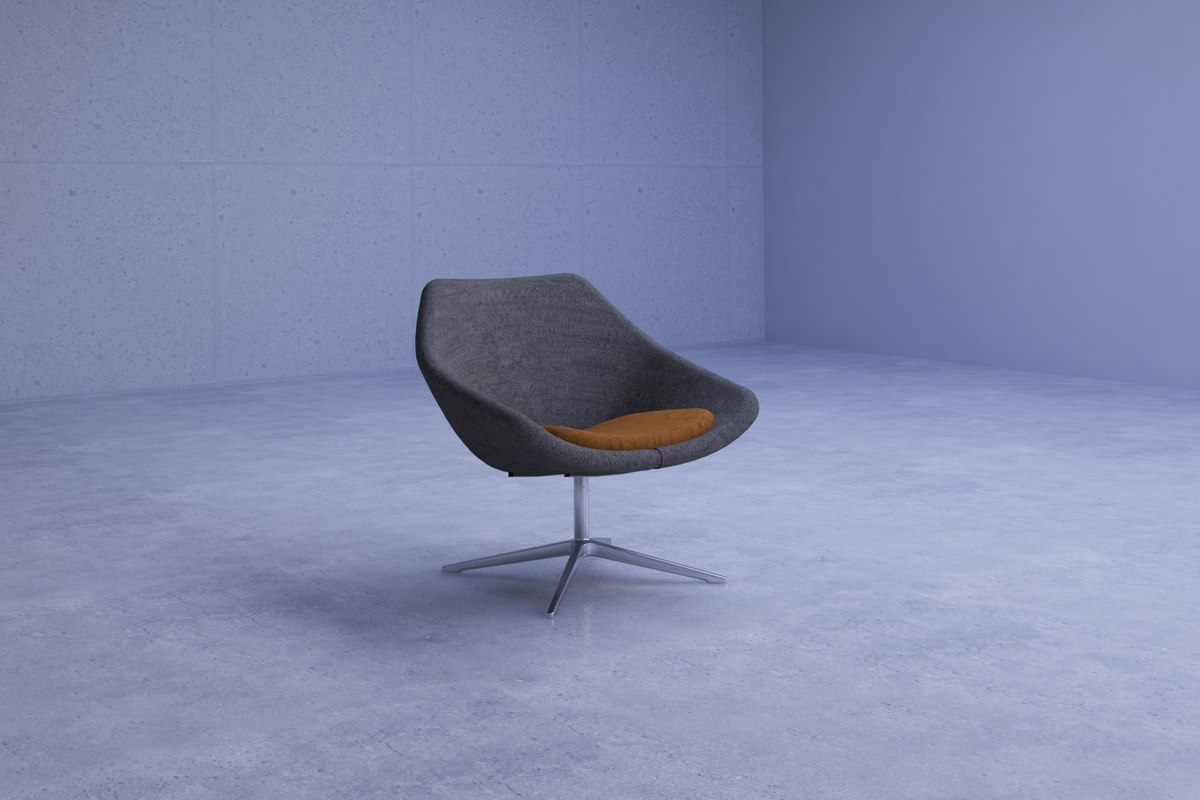 contemporary spin office chair model