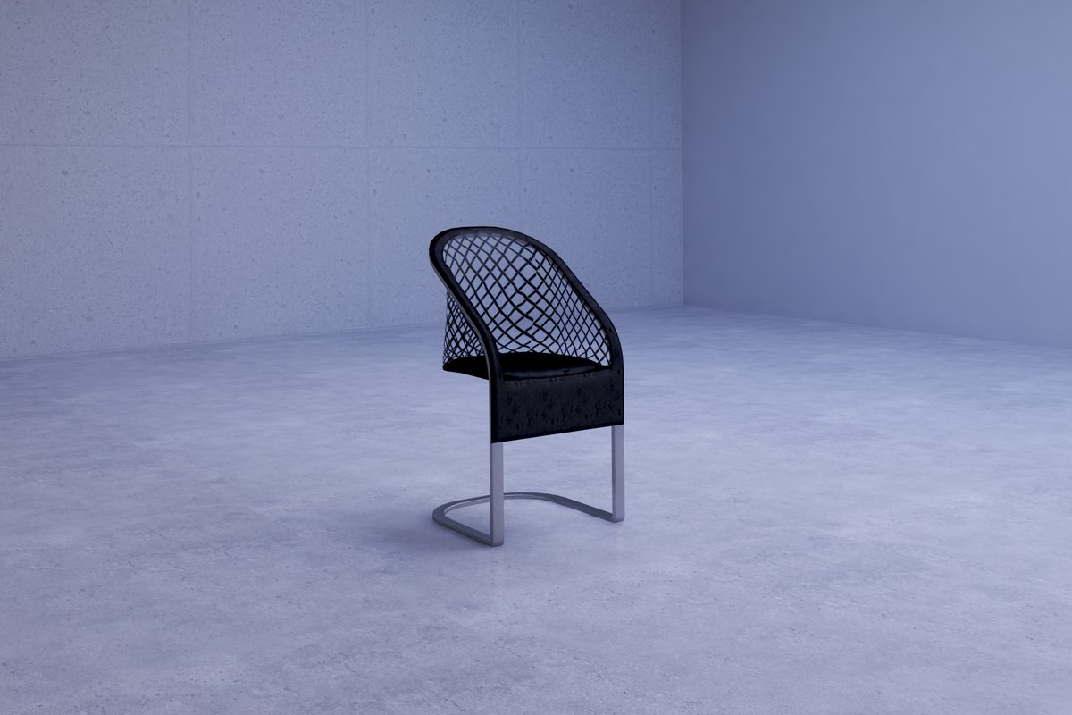 unique funky modern chair model