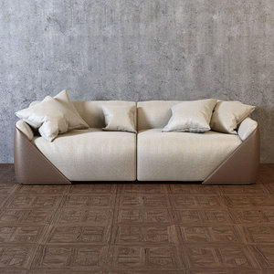 3D lagoon sofa model