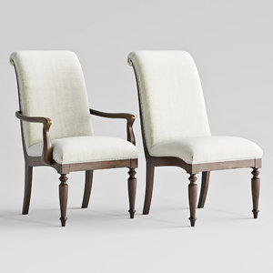 3D hooker furniture archivist upholstered