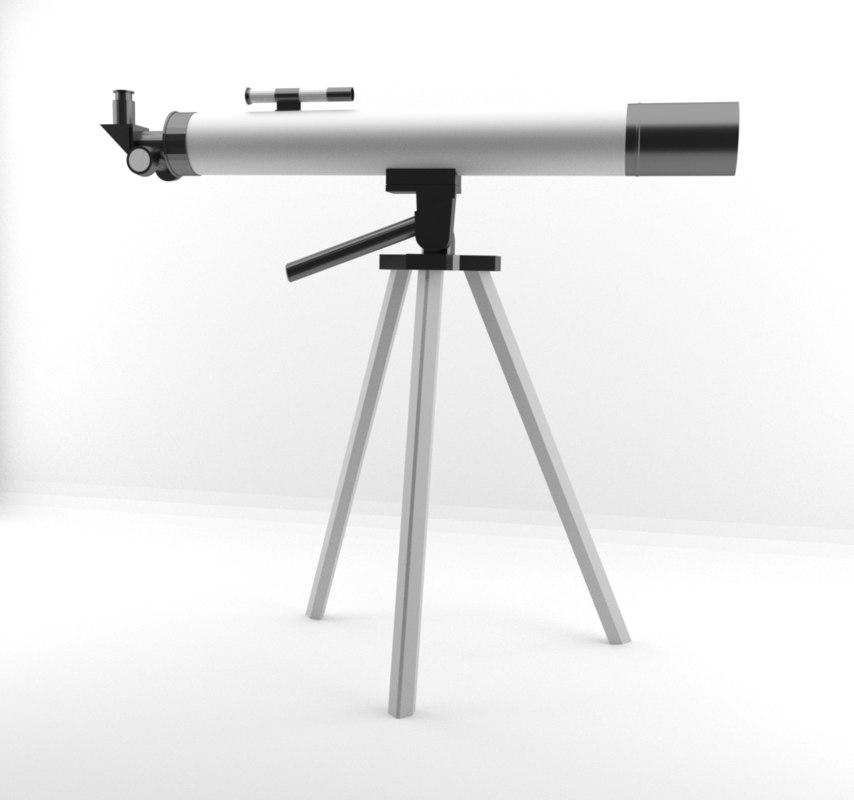 space telescope 3D