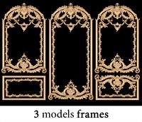 3D model frames 3
