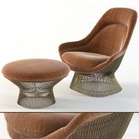 3D warren platner ottoman