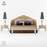 ta641k bed t2135 3D model