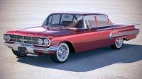 3D chevrolet impala sedan