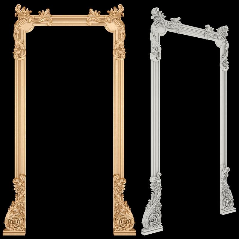 door frame 3D