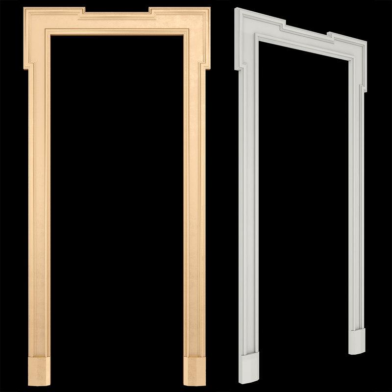 3D door frame