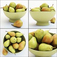 3D pears vase