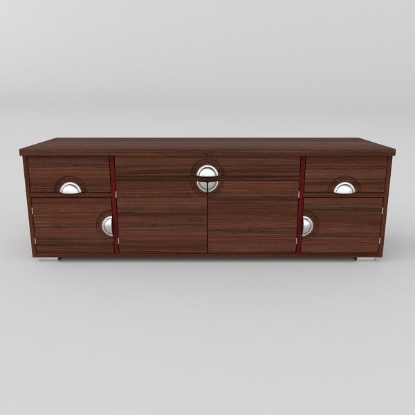 tv stand 3D model
