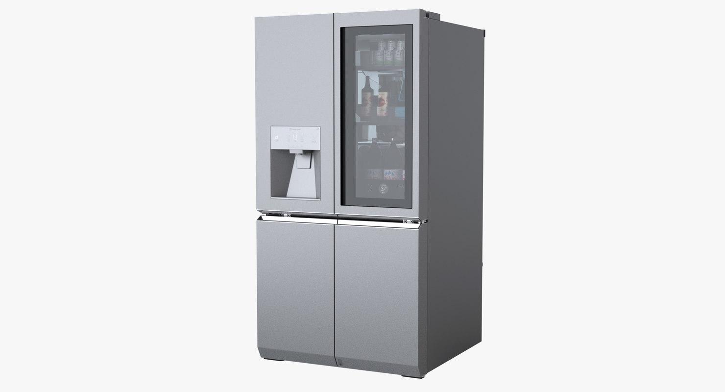 premium french door refrigerator model