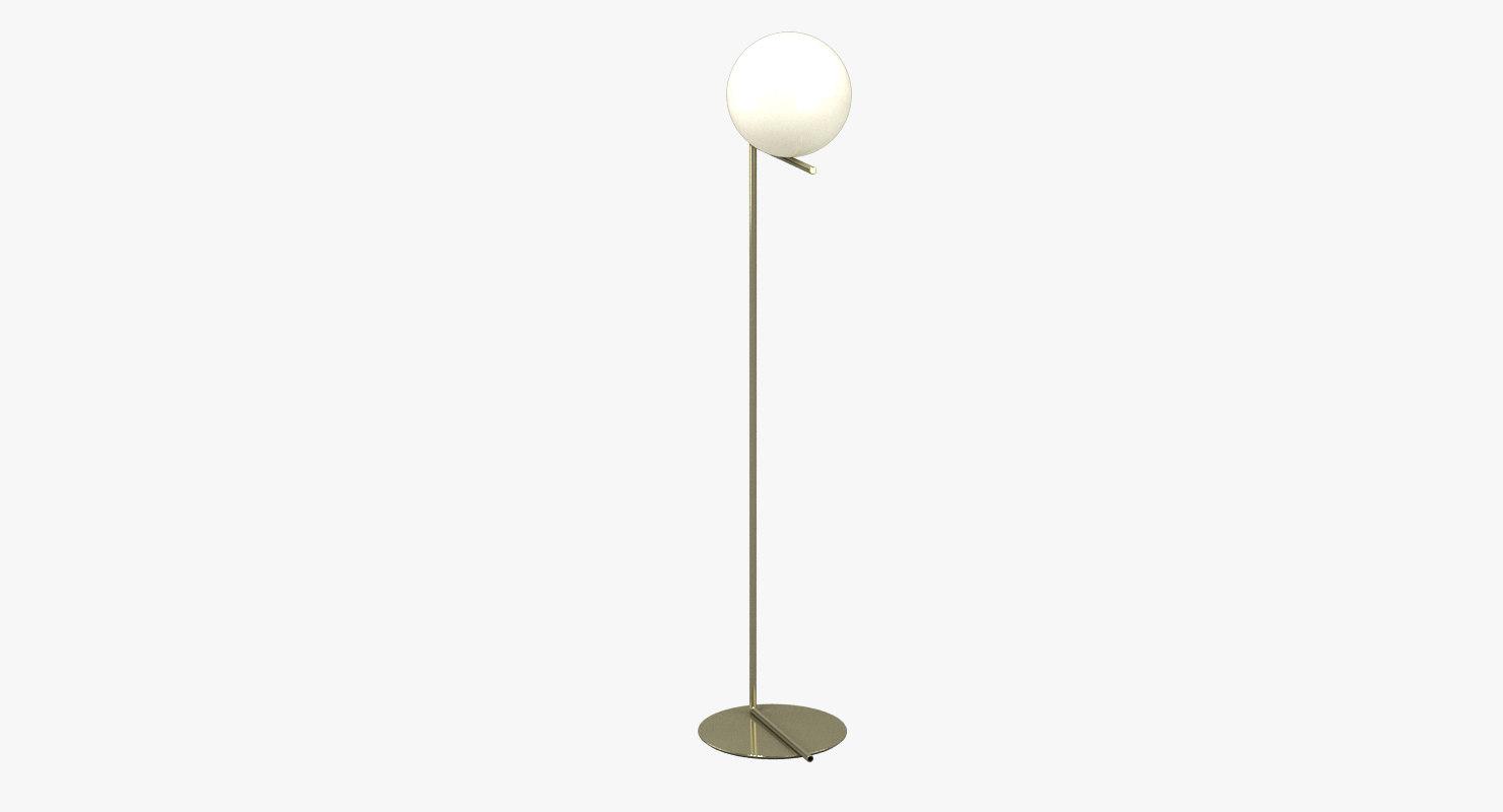 3D flos ic lamp