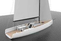 brenta 33 sail 3D