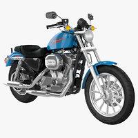 3D model harley-davidson sportster 883