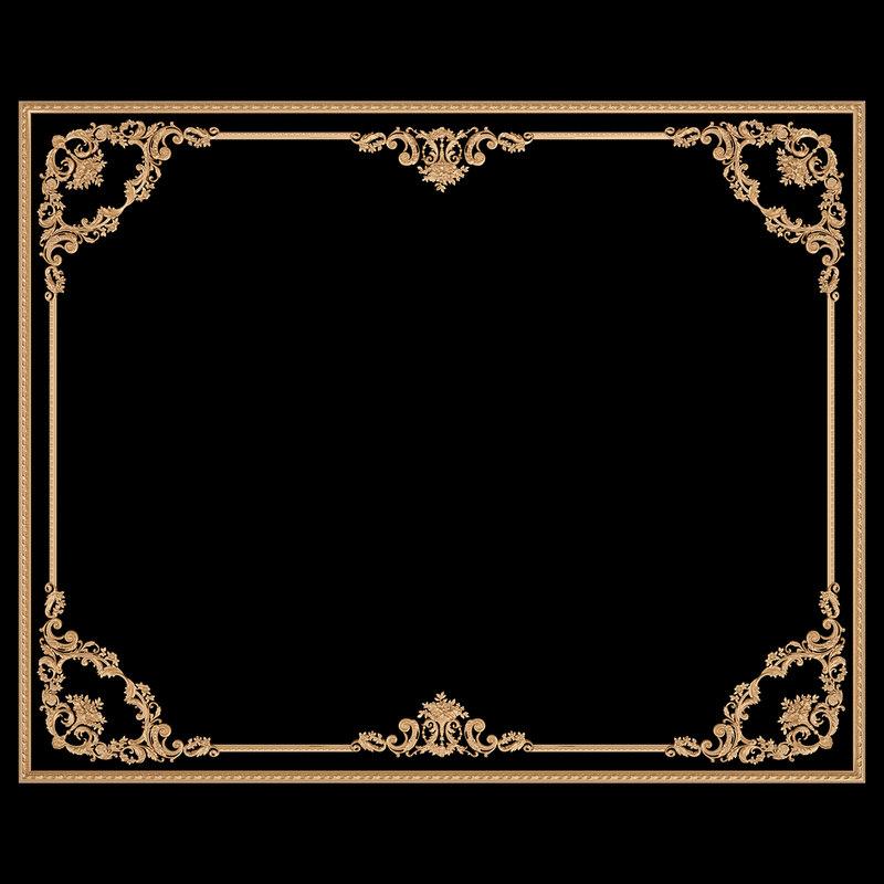 ceiling frame 3D
