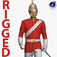 queens royal soldier lifeguards model