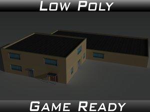 3D factory building 36