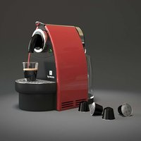coffe machine 3D model
