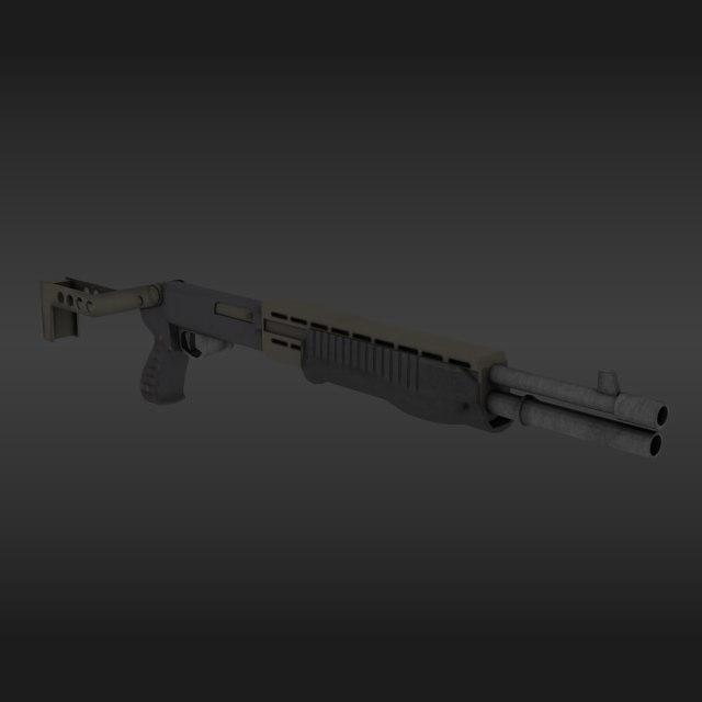 3D weapon spas-12