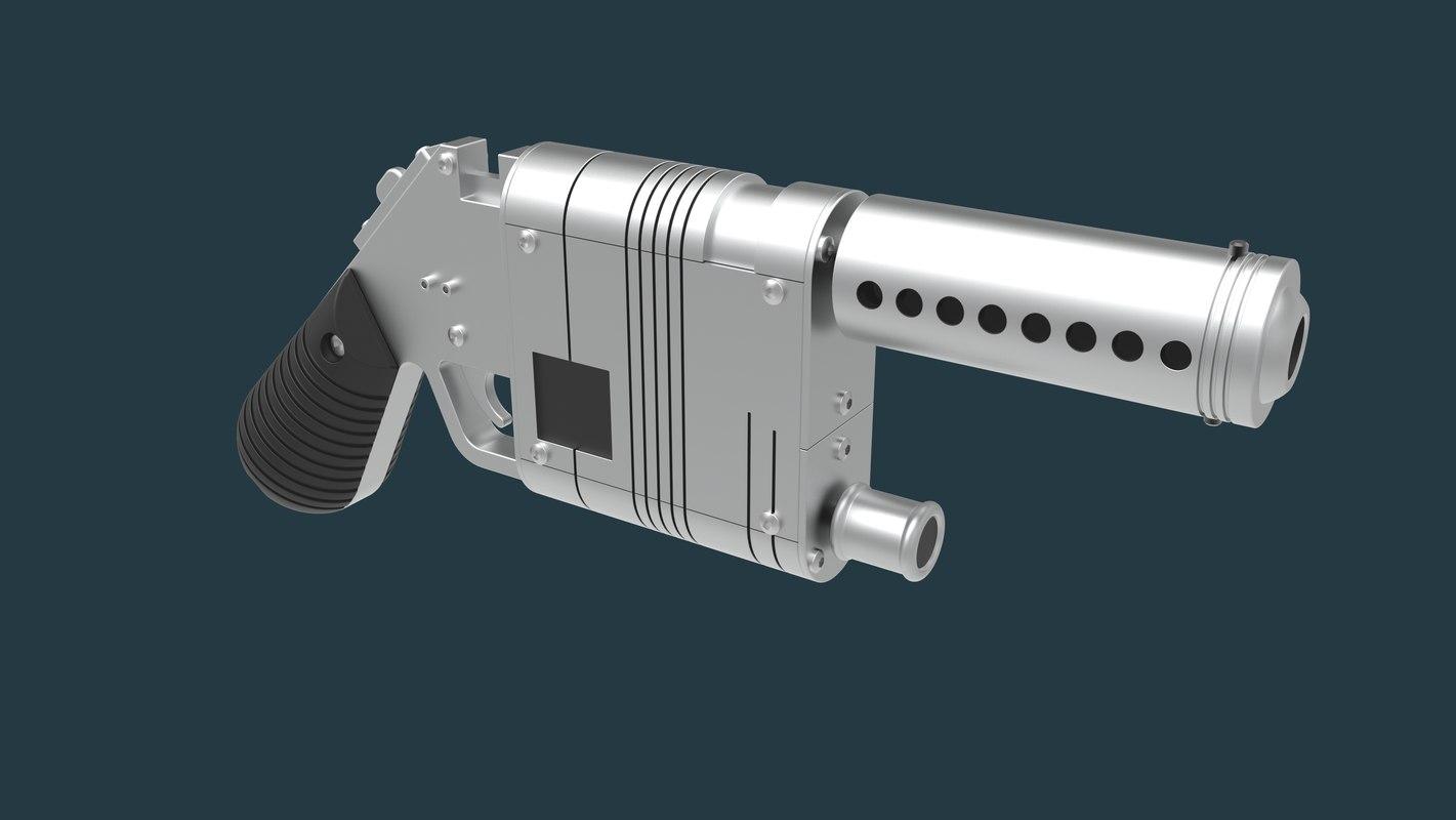 3D nn-14 blaster pistol lpa