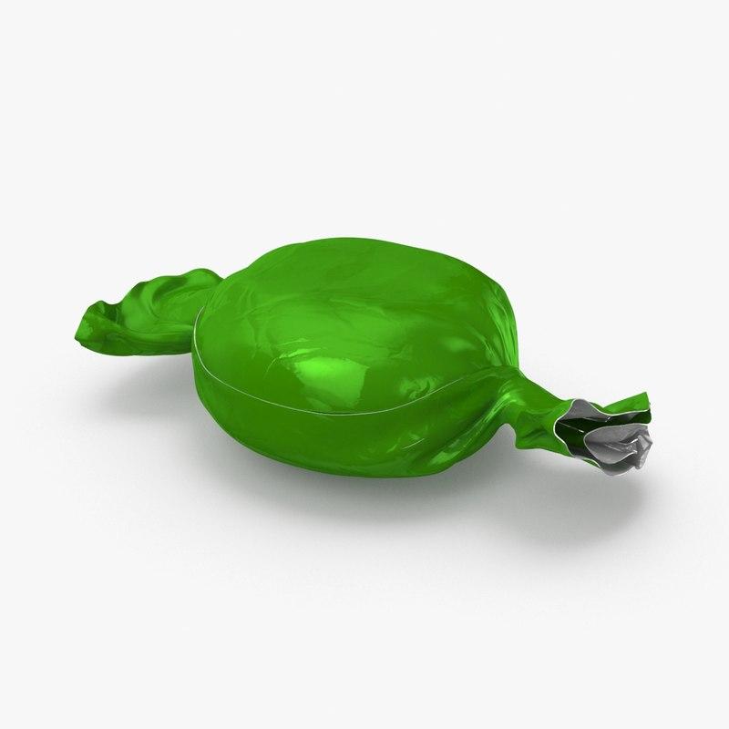 hard-candies---green-plain model