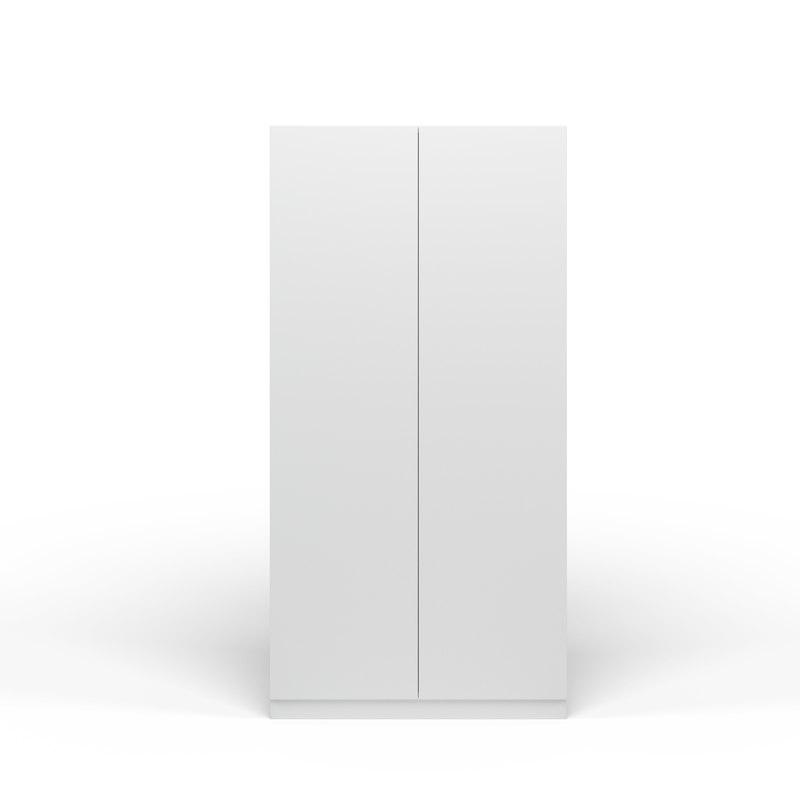 3D door white wardrobe
